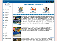 web design - korcula holiday